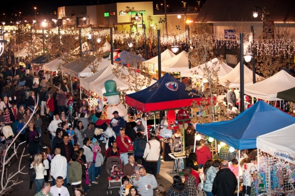City of Lancaster Christmas Market. Photo by THE Blvd