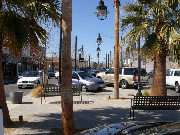 The Multi-Use Ramblas. Photo by the San Diego American Planning Journal