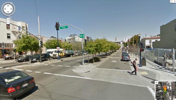 Octavia Boulevard, San Francisco, California via Strode to Boulevard