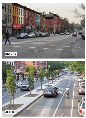 Vanderbilt Avenue Before and After